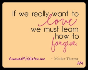 testimony tuesday: forgiveness is a gift to give and to receive