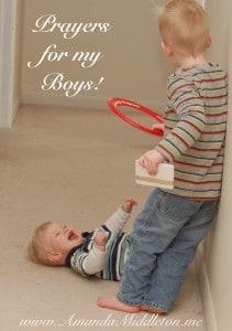17 prayers for my boys