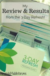 3 Day Refresh!