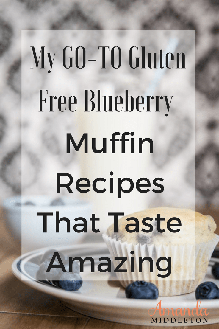 My GO-TO Gluten Free Blueberry Muffin Recipes That Taste Amazing