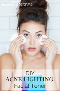 DIY Acne Fighting Facial Toner