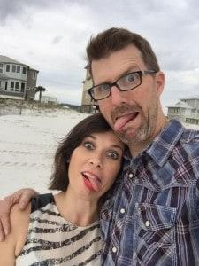 Chris and Mandi at Beach 1