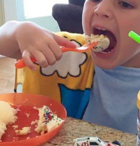 Gluten-Free Birthday Cake Cupcakes