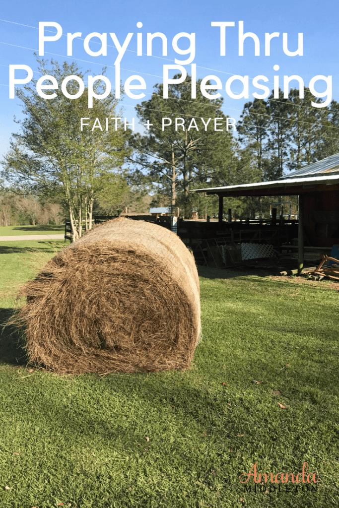 Praying Through People Pleasing