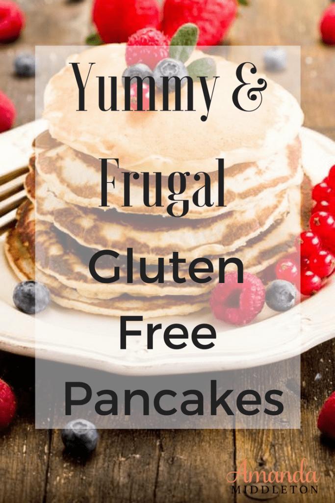 Gluten Free Banana Coconut Pancakes