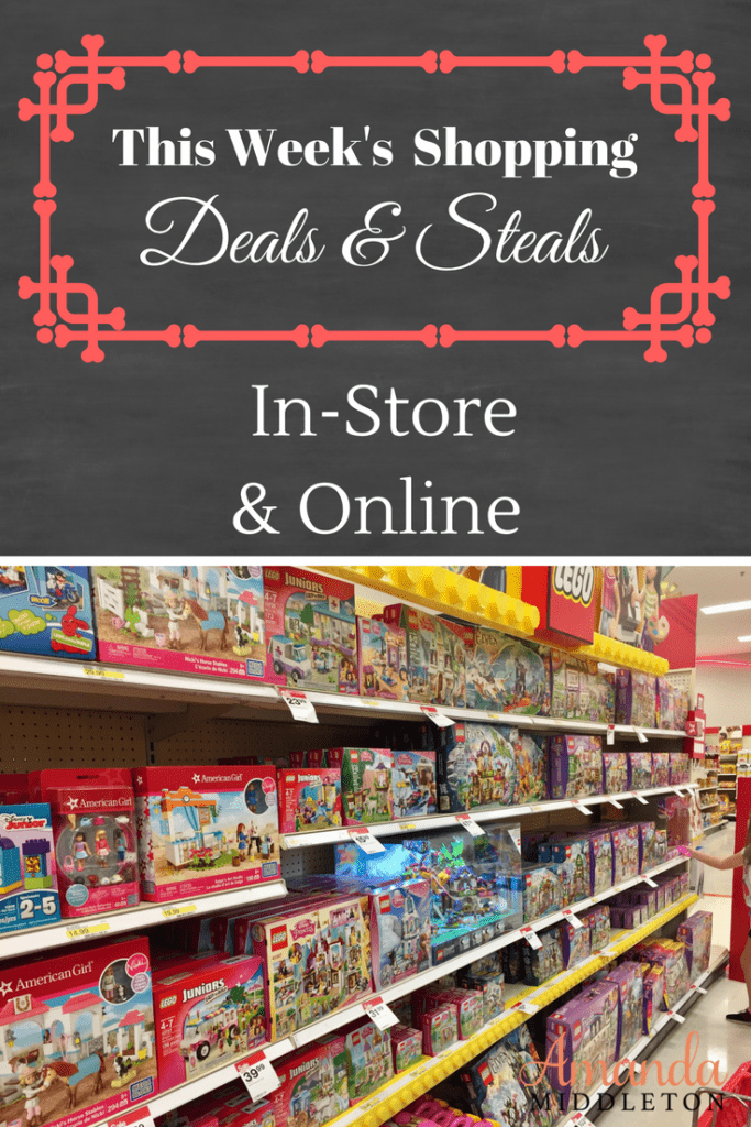 This Week's Shopping Deals & Steals: In-Store & Online