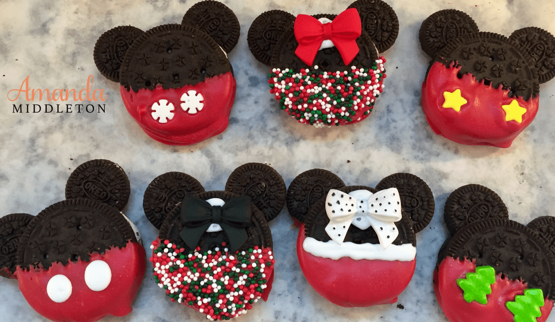 Allergy Friendly Disney Inspired No Bake Christmas Cookies
