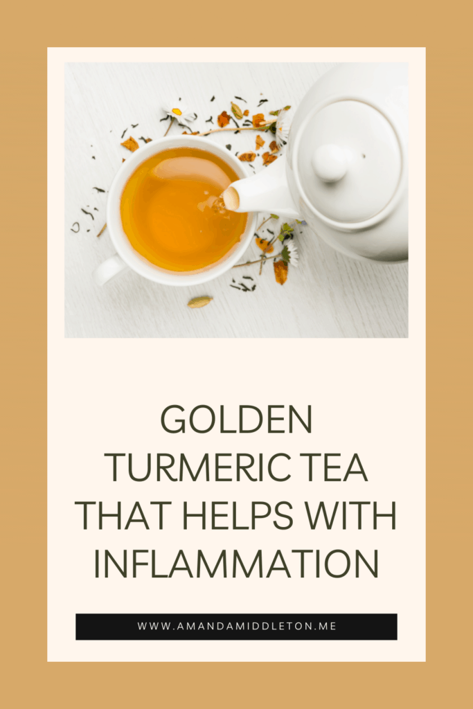 Golden Turmeric Tea That Helps With Inflammation