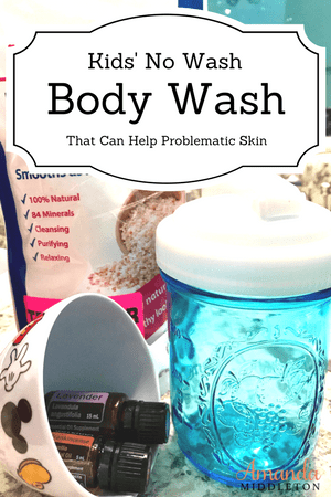 Kids' No Wash Body Wash That Can Help Problematic Skin
