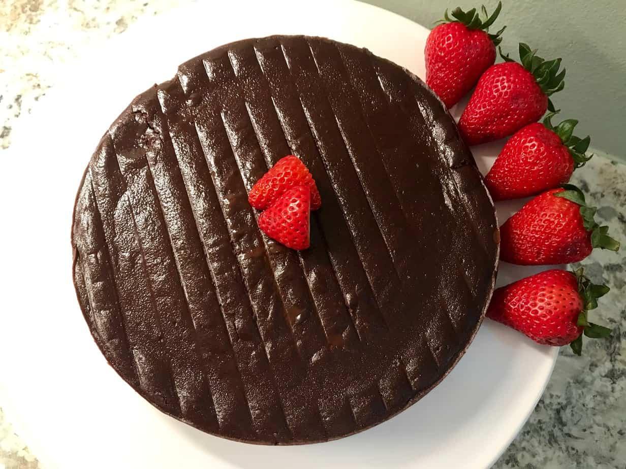 Heart Healthy Gluten Free Chocolate Torte Dessert