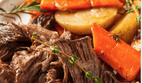 Crockpot Roast : Easy and Delicious