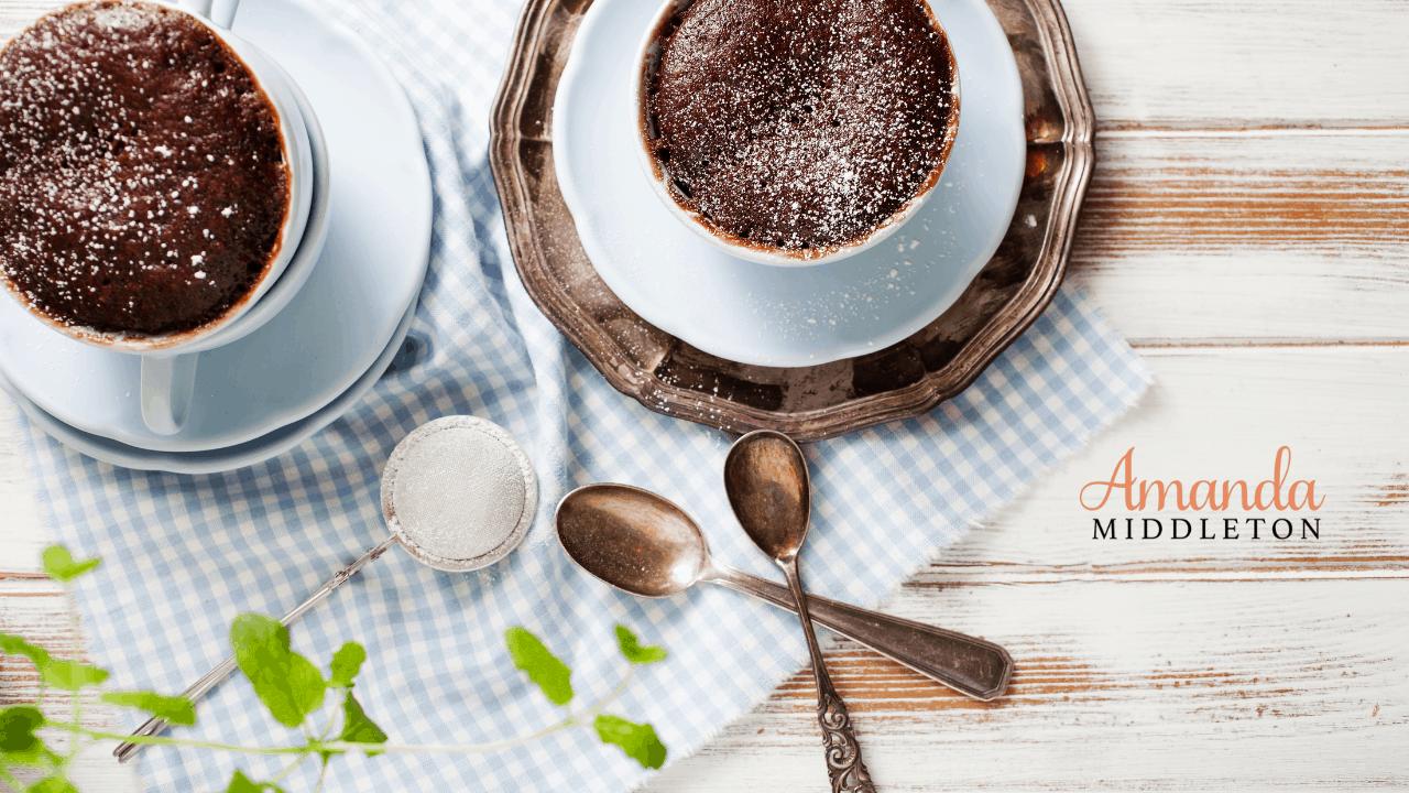 Low-Carb and Keto Chocolate Mug Cake
