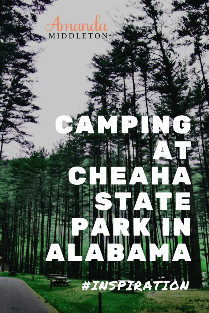 Camping at Cheaha State Park in Alabama