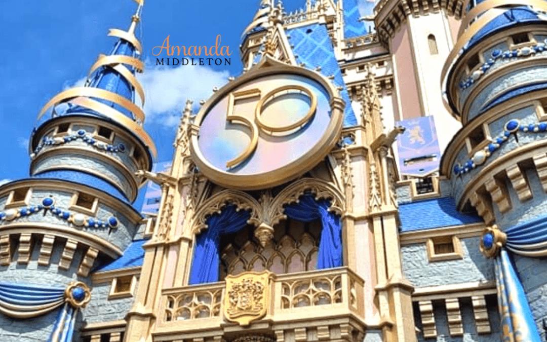 Disney World's 50th Celebration Family Vacation